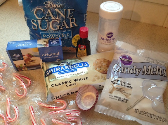 White chocolate peppermint ingredients