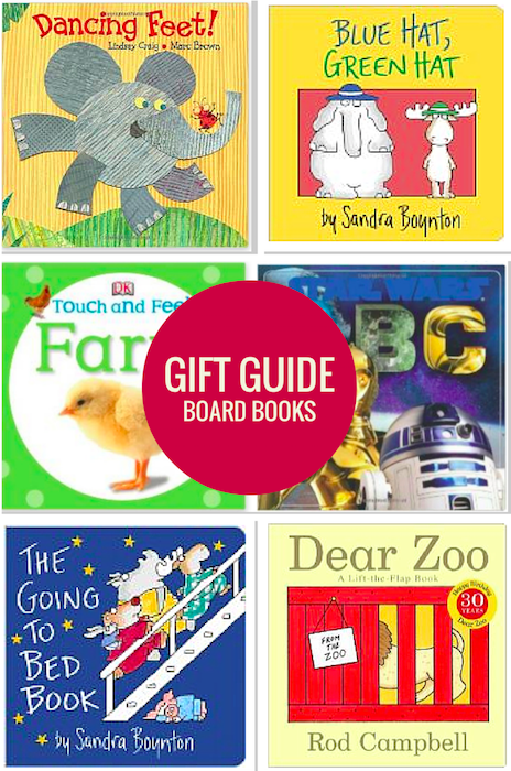 Gift Guide - Favorite Board Books for Little Ones