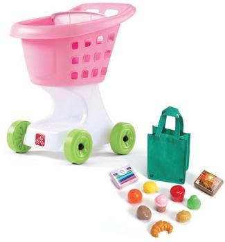 kohls pink shopping cart
