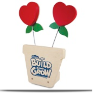 lowes free build heart holder