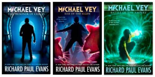 michael vey clean books