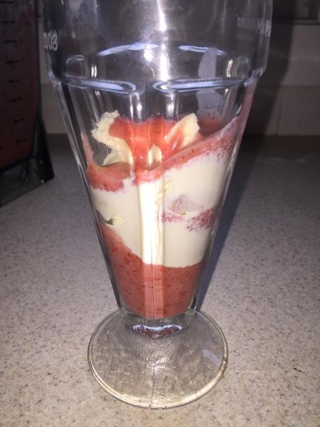 add ice cream and more puree