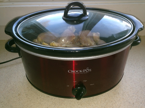 cook chicken in slow cooker