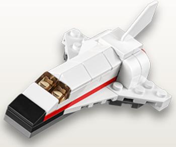 lego mini space shuttle instructions - photo #23
