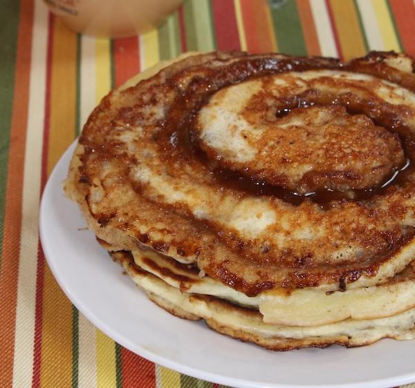 Cinnamon Roll Pancakes - YUM!!