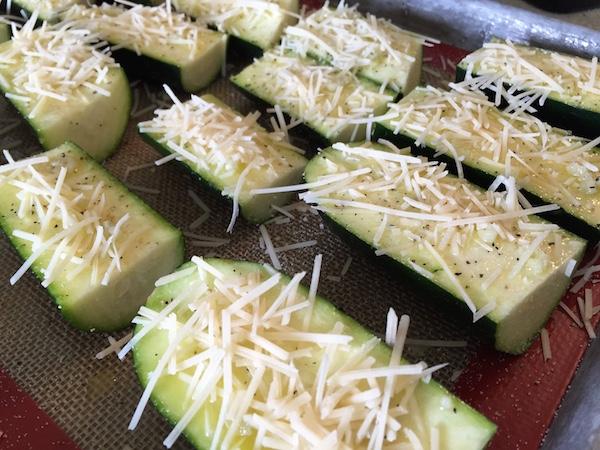 Add cheese and salt & pepper