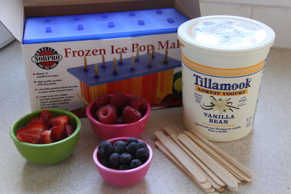 Breakfast Yogurt Pops Ingredients