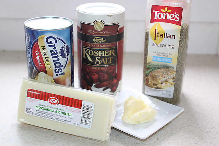 Garlic Herb Cheese Bites Ingredients