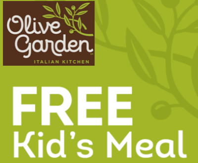 olive garden free kids meal