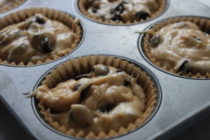 Bake muffins