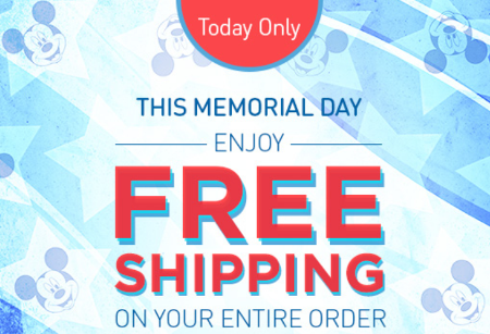 disney store free shipping deal