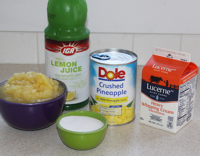 Dole Whip ingredients