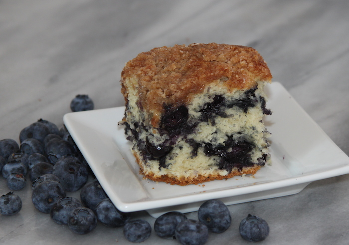 Yummy Blueberry Buckle