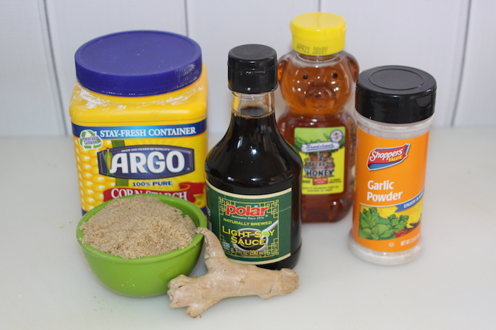 Teriyaki Sauce ingredients
