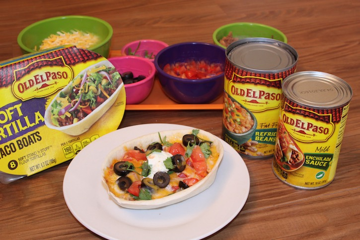 Easy Chicken Taco Bowls great for busy school night