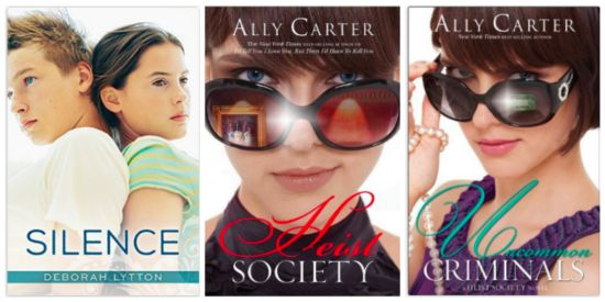 clean books ally carter
