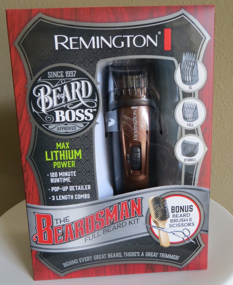 remington beard boss full beard grooming kit. Black Bedroom Furniture Sets. Home Design Ideas