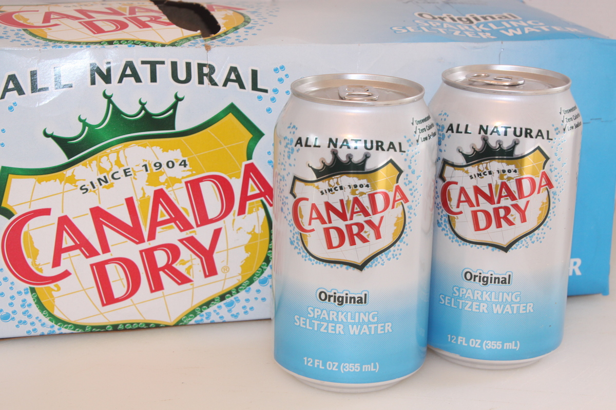 Canada Dry Sparkling Selzter Water