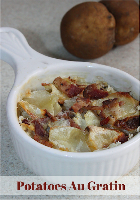 This is a very simple dish to make. These Potatoes Au Gratin make a ...