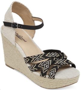 macys wedge shoe