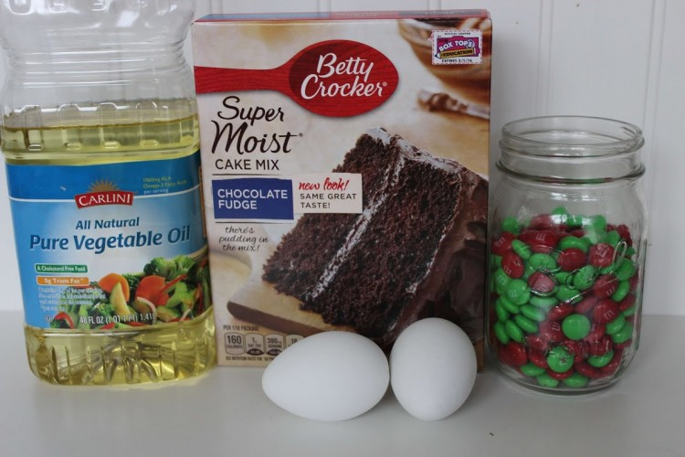 Cake mix cookies ingredients