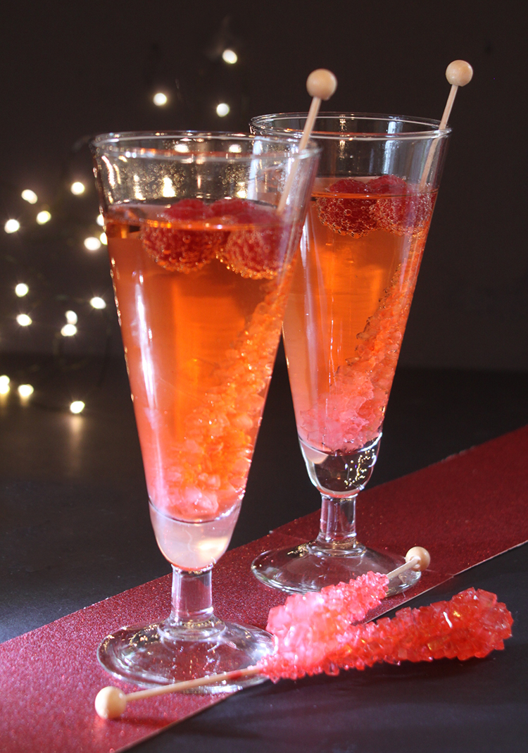 Non-Alcohlic Festive Party Drink