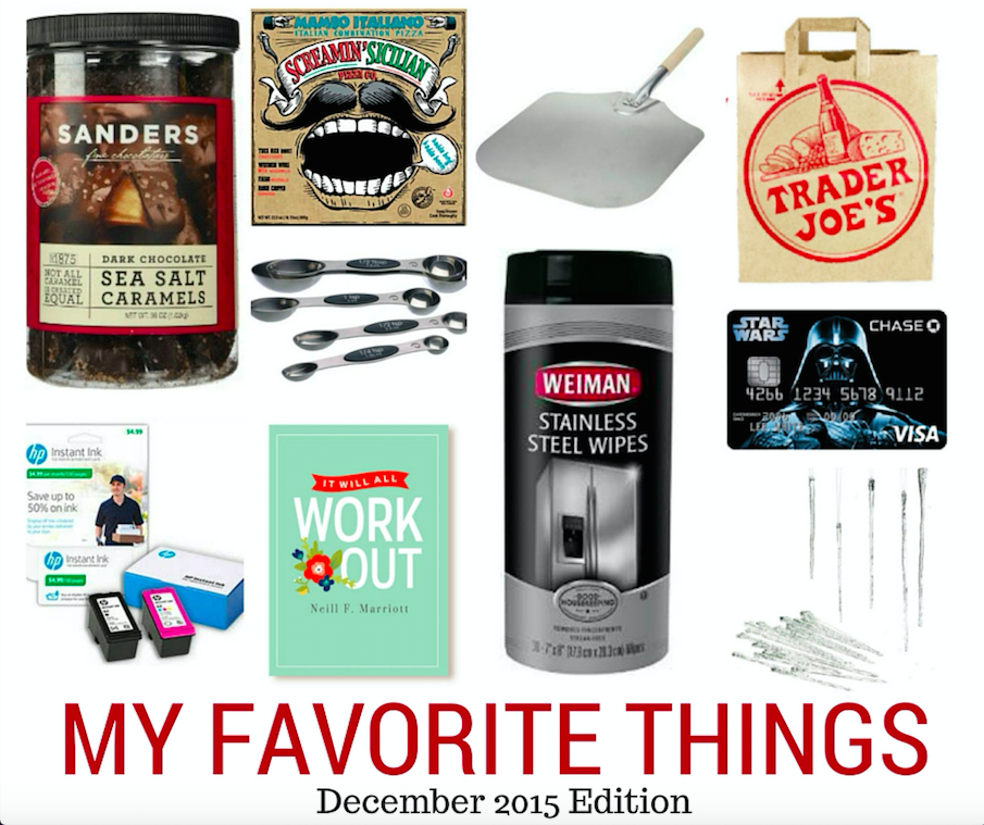 My Favorite Things for December