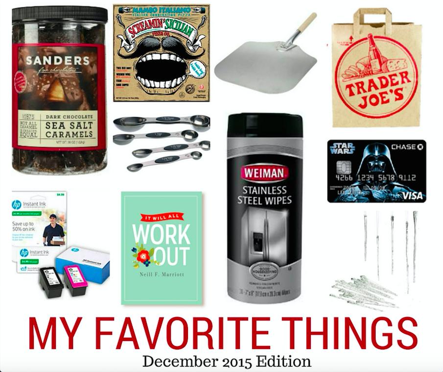 My Favorite Things for December