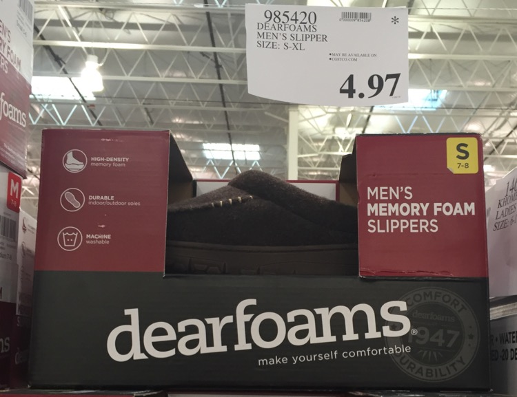 Costco Dearfoams Men s Slippers  a5180551a