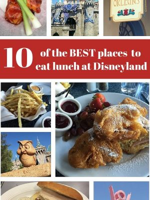 All The Best Foods At Disneyland