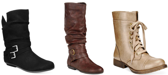 macy boot collage pic