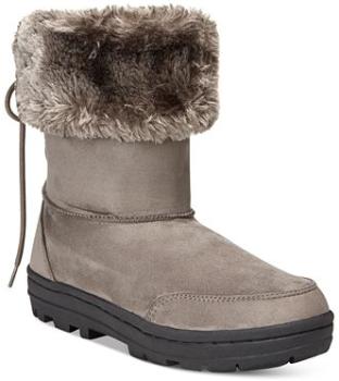 macy boot grey
