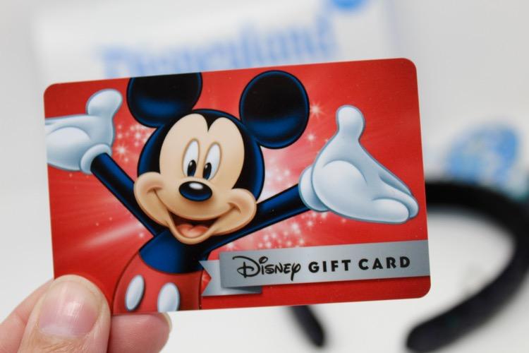 Disney gift card.