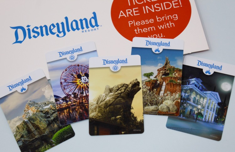 Different disneyland cards.
