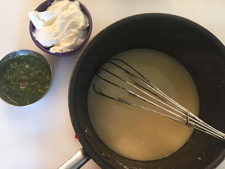 make white sauce