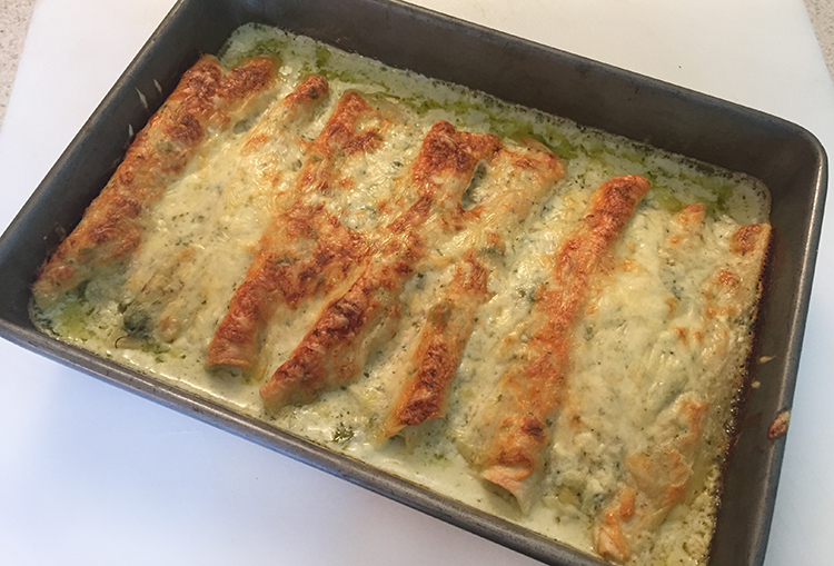 bake enchiladas