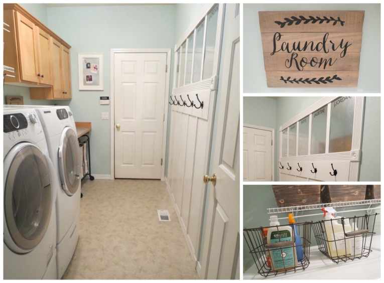 Olympic Paints laundry room