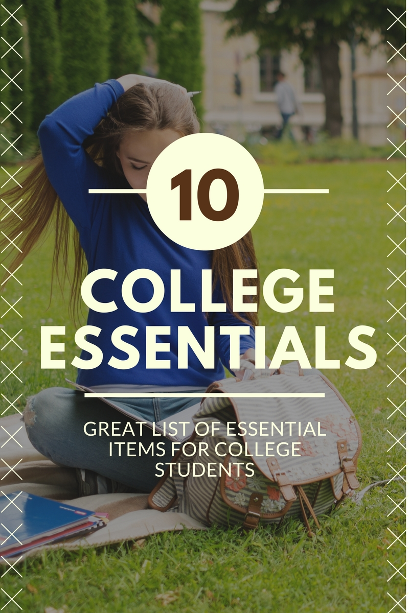 10 Back-to-College Essentials
