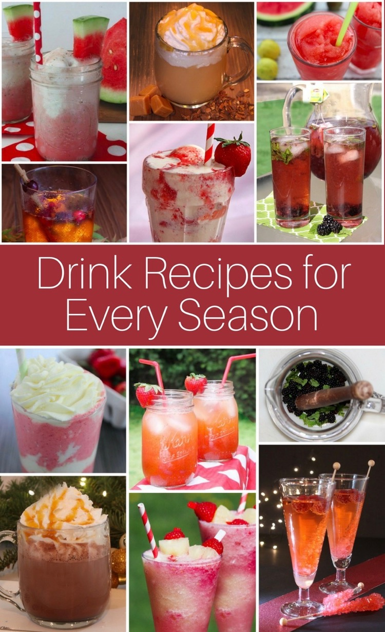 Drink Recipes for every season