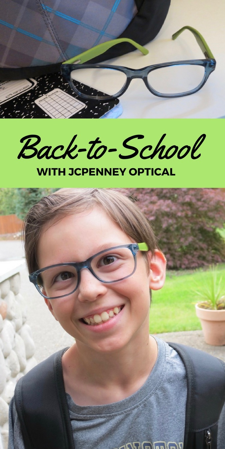 Back-to-School with JCPenny Optical