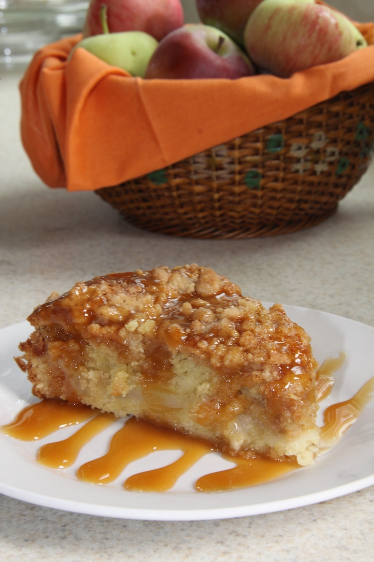 Caramel Apple Coffee Cake recipe