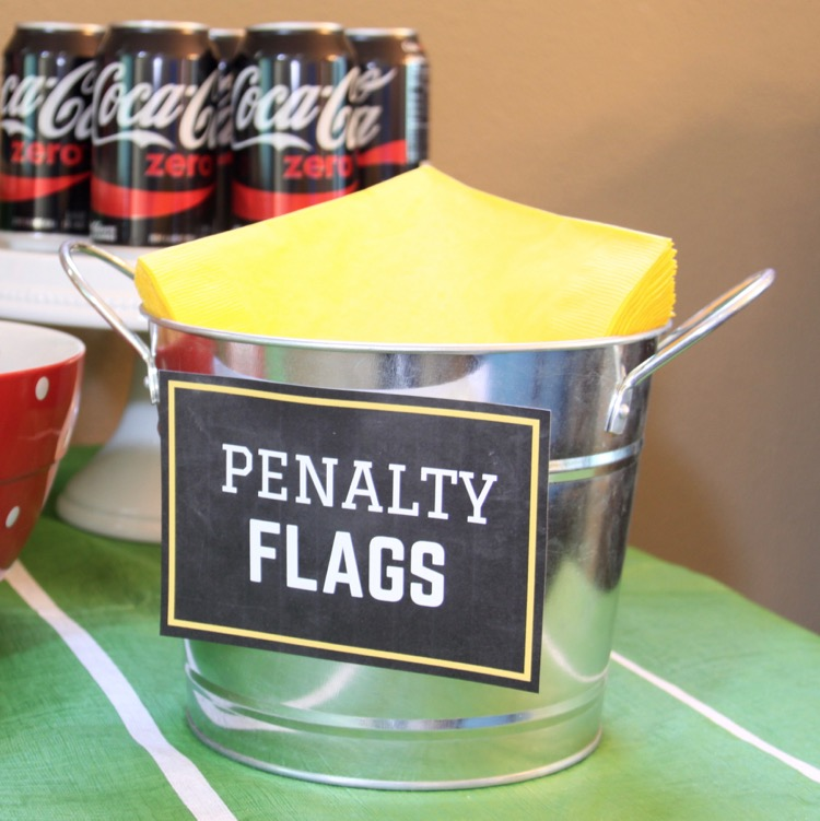 Here are some fun football viewing party ideas to inspire you to throw your own football party soon.  sc 1 st  Thrifty and Thriving & Football Party Ideas u0026 Kids Football Craft
