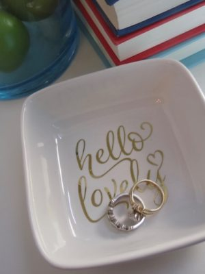 DIY Ring Dish + Current Cricut Deals