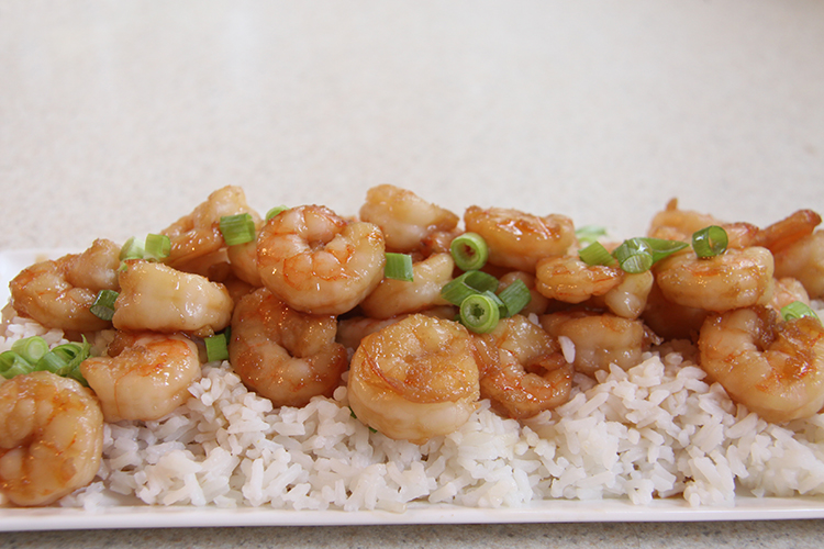 Honey Garlic Shrimp - Quick & Easy!