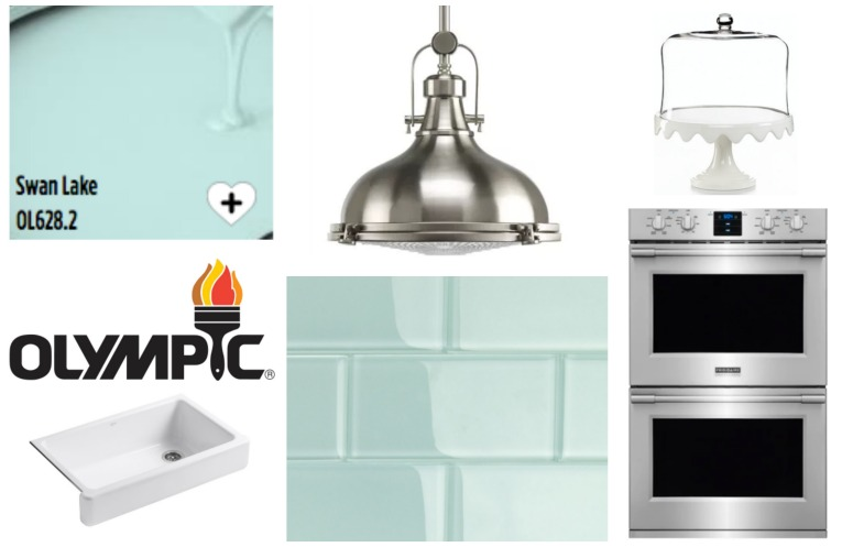 Olympic Paints Kitchen Remodel and Makeover
