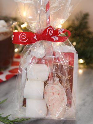 Peppermint Hot Cocoa Kit (Great Stocking Stuffer or Neighbor/Teacher Gifts)