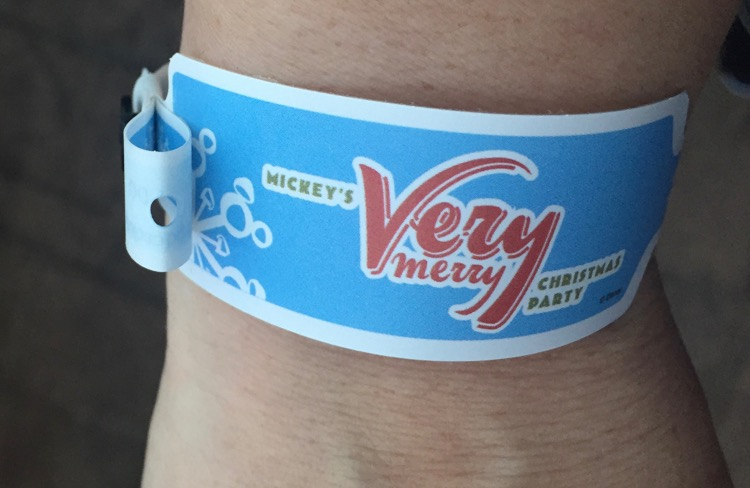 Mickey's Very Merry Christmas Wristband