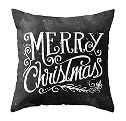 amazon-pillow-merry-xmas-black