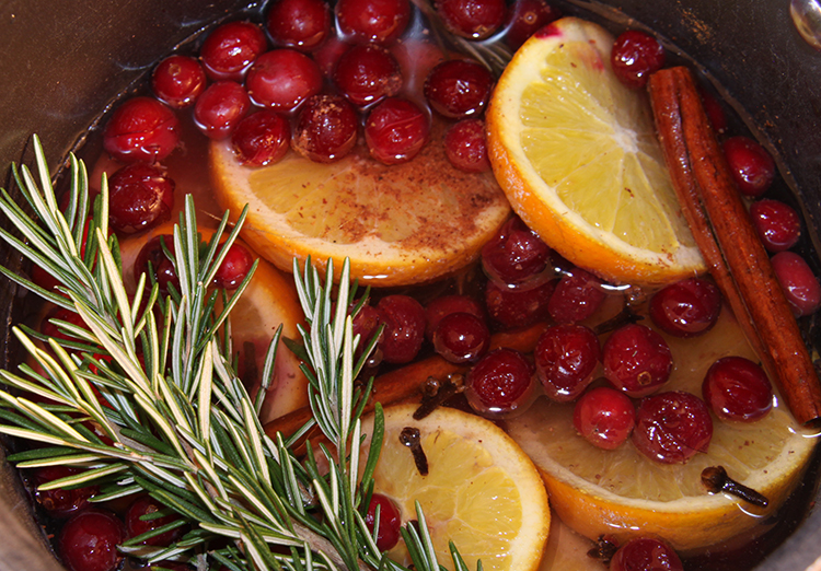 Christmas Potpourri simmer on stovetop