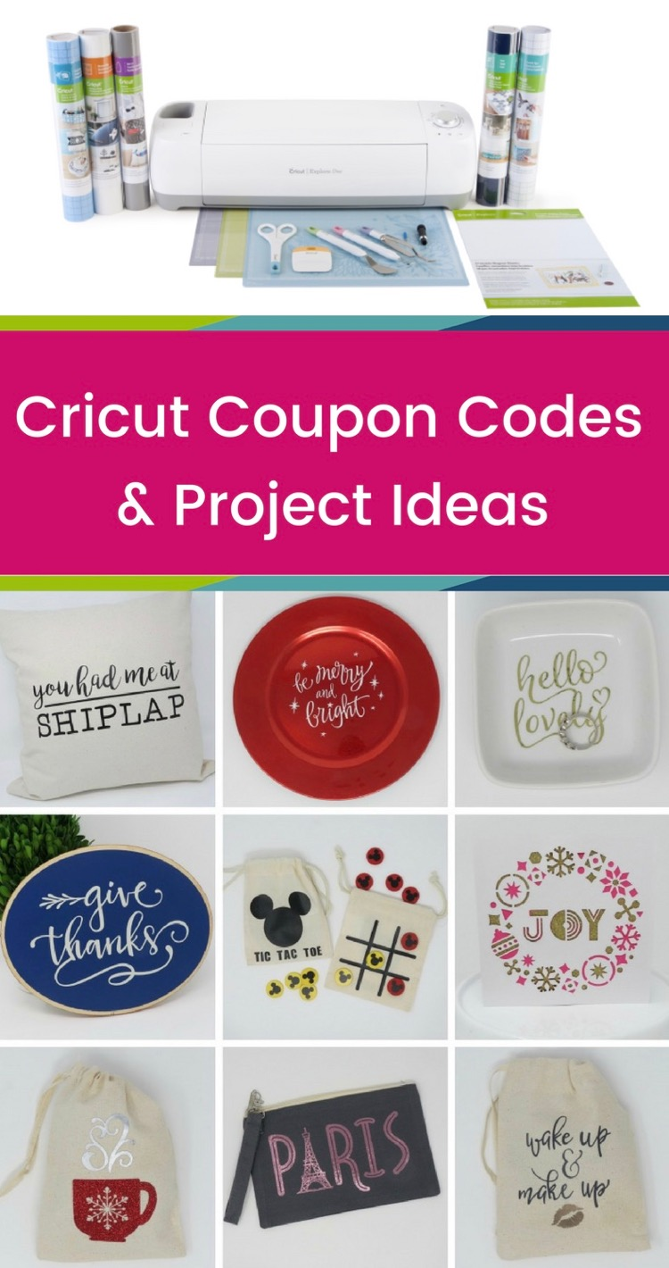cricut machine coupons